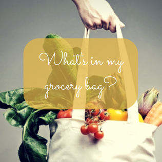want to know what's in my grocery bag?
